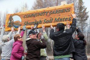 11th April - Peter Tracz - Shuniah Soil Mates Sign Lakeshore Dr