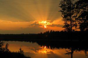 7th October - Donna Blunt -Sparks Lake Sunset